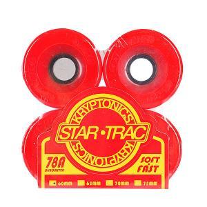 Колеса для скейтборда  Star Trac Premium Red 78A 60mm Kryptonics. Цвет: красный
