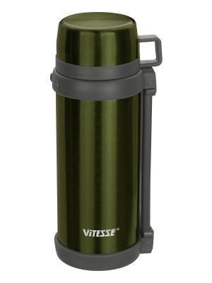 Термос Vitesse. Цвет: зеленый
