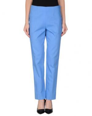Повседневные брюки QL2 QUELLEDUE. Цвет: пастельно-синий