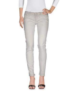 Джинсовые брюки CYCLE. Цвет: песочный
