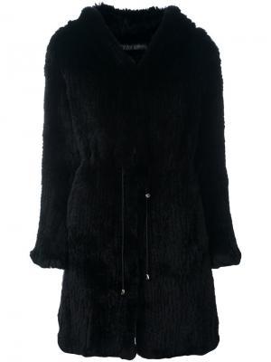 Пальто на пуговицах Drome. Цвет: чёрный