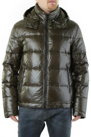 Down Jacket HUSKY. Цвет: dark green