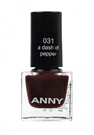 Лак для ногтей Anny. Цвет: коричневый