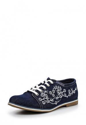 Ботинки T.Taccardi for Kari. Цвет: синий