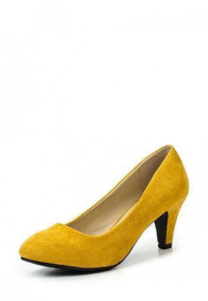 Туфли Mada-Emme. Цвет: желтый