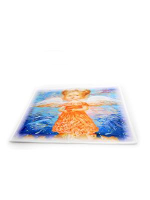Коврик в ванну Натали Деревянко -Любовь окрыляет- Фабрика ДемьяновЪ. Цвет: белый, бледно-розовый, голубой, горчичный, желтый, синий