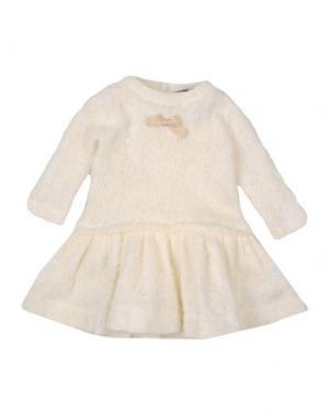 Платье LILI GAUFRETTE. Цвет: слоновая кость