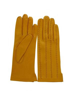 Перчатки PerstGloves. Цвет: горчичный