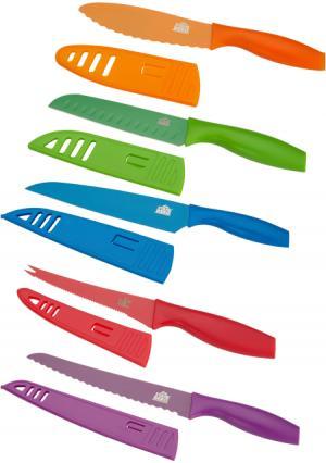 Набор ножей с чехлами (5 шт.) Gipfel. Цвет: мультиколор