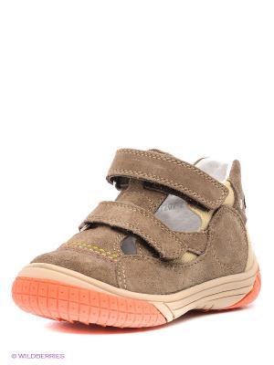Ботинки PlayToday. Цвет: коричневый, оранжевый