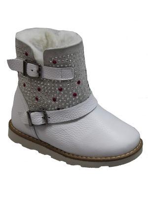 Ботинки TIFLANI. Цвет: белый