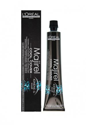 Стойкая крем-краска для волос 7.11 LOreal Professional L'Oreal. Цвет: черный