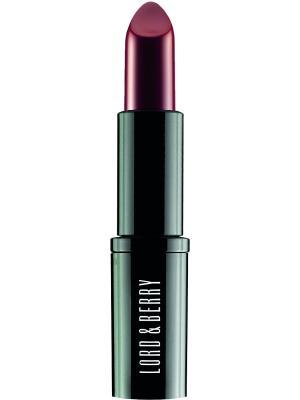 Экстраординарная матовая помада Vogue, оттенок 7603 China Red Lord&Berry. Цвет: темно-бордовый