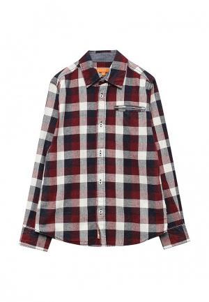 Рубашка Staccato. Цвет: бордовый
