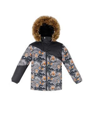 Куртка REIKE. Цвет: серый