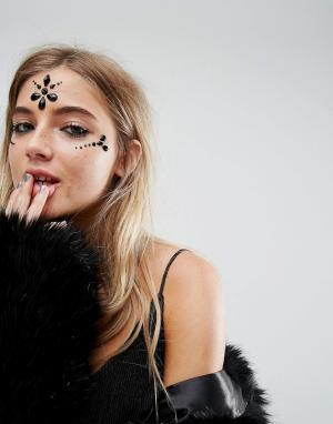 Orelia Украшения для лица Halloween. Цвет: мульти