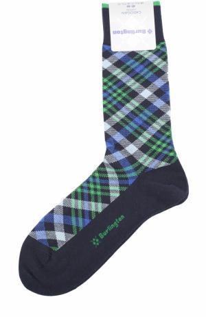 Хлопковые носки Cadogan Burlington. Цвет: синий
