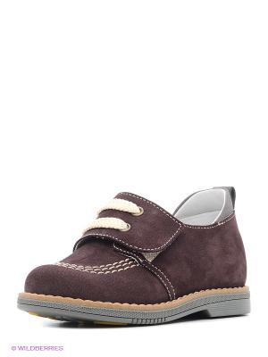 Ботинки TAPiBOO. Цвет: темно-коричневый