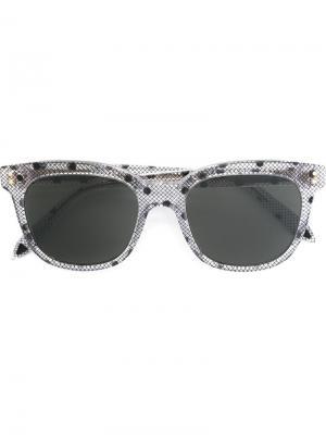 Солнцезащитные очки Victoria Beckham. Цвет: серый