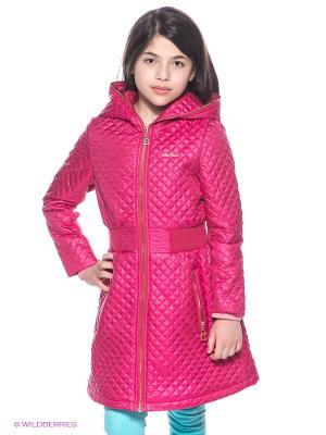 Пальто MES AMI. Цвет: малиновый
