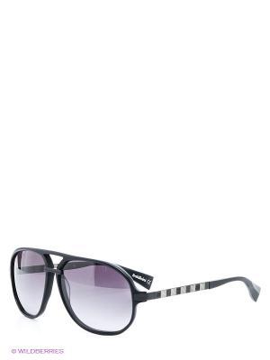 Солнцезащитные очки BLD 1411 201 Baldinini. Цвет: черный