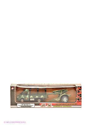 Газель военная 3302-7 Технопарк. Цвет: зеленый