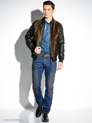 Куртка Just Cavalli. Цвет: коричневый
