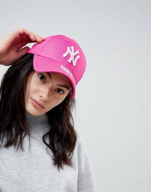 New Era Розовая кепка 9Forty. Цвет: розовый