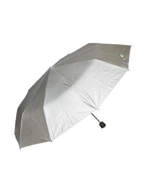 Зонт механический Mitya Veselkov. Цвет: серебристый