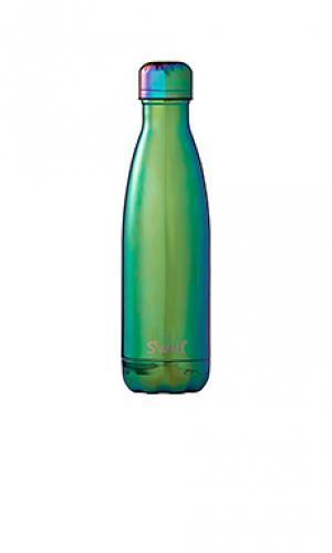 Бутылка для вода объёма 17 унций spectrum Swell S'well. Цвет: зеленый