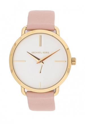 Часы Michael Kors. Цвет: розовый