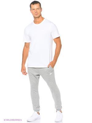 Брюки M NSW PANT CF JSY CLUB Nike. Цвет: серый