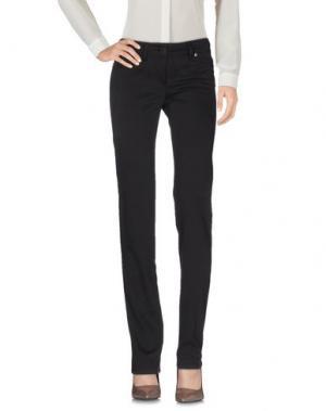 Повседневные брюки CLIÓ. Цвет: темно-коричневый