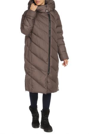 Пальто Vlasta. Цвет: 2431 коричневый