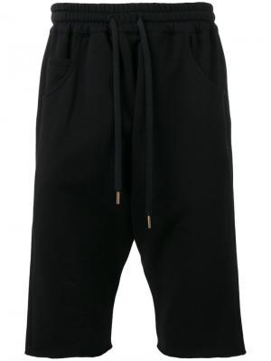 Спортивные шорты на шнурке Amen. Цвет: чёрный