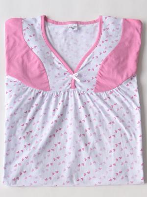 Ночная сорочка Proto. Цвет: розовый