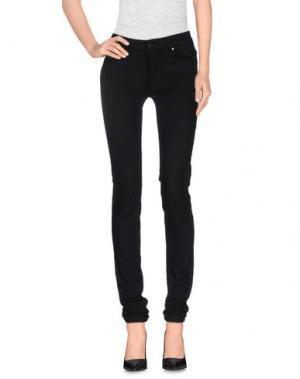Повседневные брюки SUPERTRASH. Цвет: черный