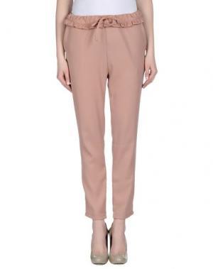 Повседневные брюки BONSUI. Цвет: верблюжий
