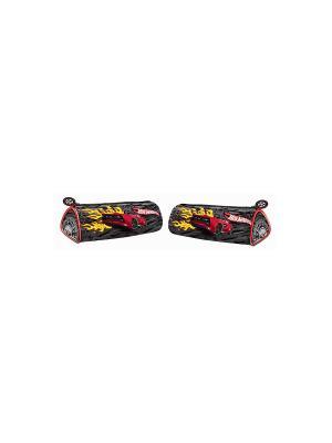 Пенал-тубус треугольный Mattel Hot Wheels красный. Цвет: красный