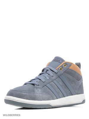 Кроссовки ORACLE VI MID Adidas. Цвет: серо-голубой, антрацитовый