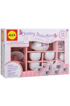 Чайный сервиз 13 предметов ALEX. Цвет: мультиколор