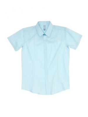 Рубашка S`Cool. Цвет: голубой