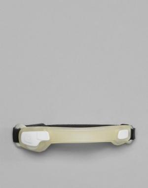 Hama Белый браслет на предплечье со светодиодными лампами Active Sport. Цвет: белый