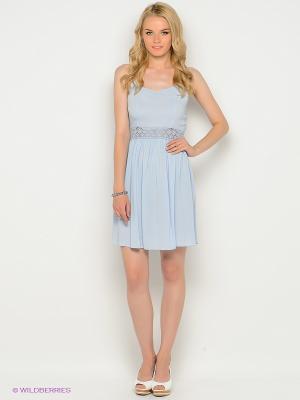 Платье New Look. Цвет: голубой