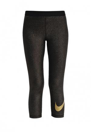 Капри Nike. Цвет: золотой