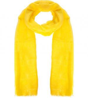 Желтый палантин из вискозы FRAAS. Цвет: желтый