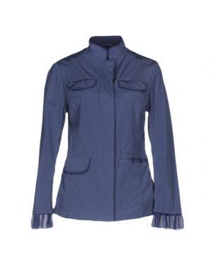 Куртка HETREGO'. Цвет: грифельно-синий