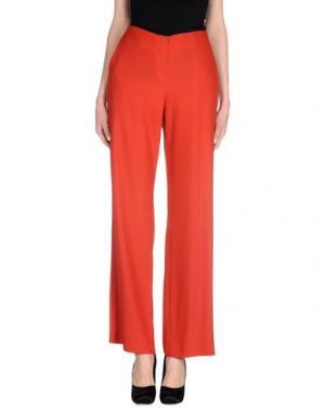 Повседневные брюки LORENA ANTONIAZZI. Цвет: красный