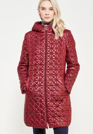 Куртка утепленная Brillare. Цвет: бордовый