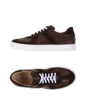 Низкие кеды и кроссовки FABIANO RICCI. Цвет: темно-коричневый